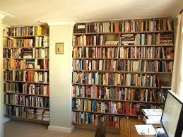 wall mounted bookshelves timber mount media shelf diy