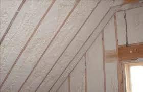open cell spray foam attic insulation
