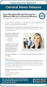 Templates For Press Releases 3 Press Release Templates To Power Pr Content Marketing