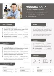 Simple Creative Cv Resume Cover Letter By Redwanulhaque
