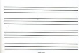 Printable Music Staff Blank Sheet Music Clip Download Rr Collections