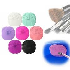silicone makeup brush cleaner. silicone makeup brush cleaner washing scrubber board cosmetic cleaning mat pad