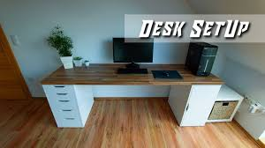 Impressive office desk setup Computer Impressive Modern Desk Setup For Office Gaming Building By Nerotec english Osxdaily Impressive Modern Desk Setup For Office Gaming Building By