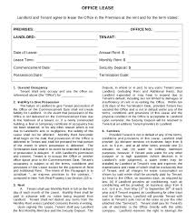 Office Rental Agreement Template 16 Lease Agreement Templates Word Pdf Pages Free