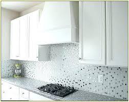 Installing Glass Mosaic Tile Backsplash Custom Design Inspiration