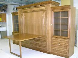 murphy bed plans with table. Table Down Murphy Bed Combo Plans With P