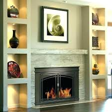 oil rubbed bronze fireplace doors small pleasant hearth glacier bay installation b fieldcrest extra glass gas logs