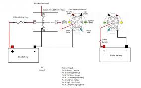 connecting a new bushtec trailer to the bushtec relay isolator Bushtec Trailer Wiring Diagram click image for larger version name motorcycle side jpeg jpg views 131 size bushtec trailer wiring diagram