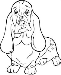 Honden Kleurplaat Huisdieren Honden Kleurplaten En Hond