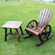 outdoor wooden rocking chairs and table porch rockers best pleasure