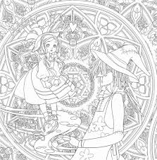 Landscape Coloring Pages For Adults To Print Color Free Printable