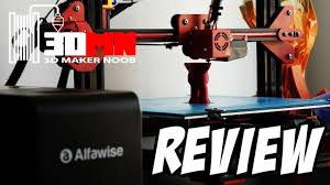 The $299 <b>Alfawise</b> U20 Large Format 3D Printer Review - YouTube