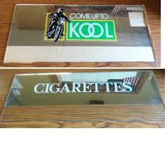 Cigarette Vending Machine For Sale Beauteous KOOL CIGARETTES Genuine Cigarette Vending Machine Marquee Header