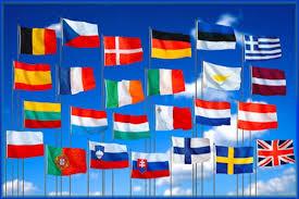Resultado de imagen de bandera de la union europea
