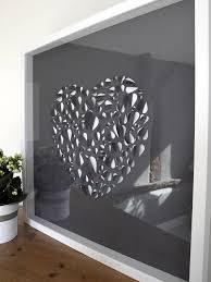 love heart wall art canvas