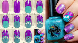 Tutorial Tuesday: Cute Alien Nail Art! - Adventures In Acetone