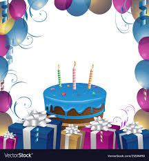 Gifts Background Beautiful Cake And Gifts Birthday Background
