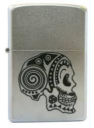 <b>Зажигалка Zippo 205 Tattoo Skull</b> - купить по выгодной цене ...