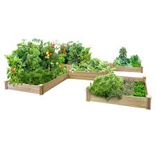 original cedar raised garden bed