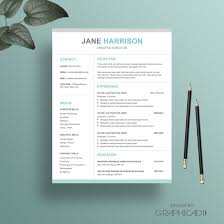 Iwork Resume Template Resume Template With A Matching Cover Letter And Reference Page For 6