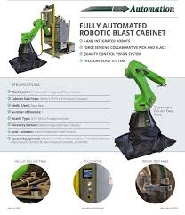 Clemco Industries Blast Cabinets Collabrative Robotic Blasating Jeffrey Bell Pulse Linkedin