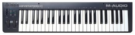 <b>MIDI</b>-<b>клавиатура M-Audio Keystation</b> 49 — купить по выгодной ...