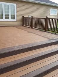 composite deck ideas. Beautiful Composite Trex Deck Throughout Composite Deck Ideas