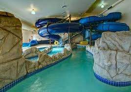 Beautiful House With Indoor Pool Slide 2016 And Design Ideas