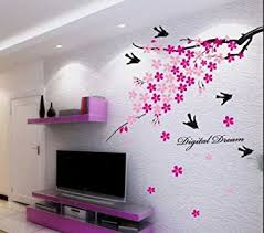 Small Picture Buy Decals Design Flower Branch with Birds Wall Sticker PVC