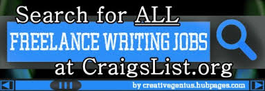 search for all lance writing jobs at craigslist org although   lance writing job search a great website tips to using craigslist to jobs