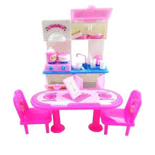 barbie doll house furniture. Cheap Barbie Doll House Furniture Lovely Com Buy Set Dolls Dining Table Kitchen Of Price In