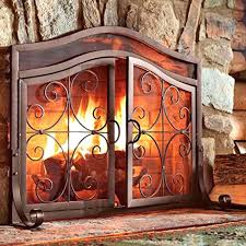 fireplace doors screens wood burning glass custom extra large size d fireplace glass covers custom doors