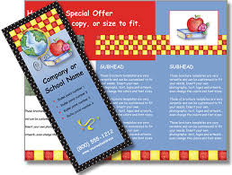 Education Brochure Templates Brochure Templates For Schools And Classrooms