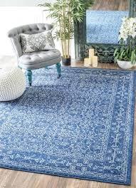 nuloom traditional vintage distressed blue rug dark area home design