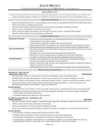 Administrative Assistant Resume Template Fresh Beautiful Executive ...