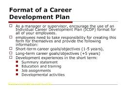 Air Force Personal Leadership Development Plan Example