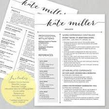 resume template for teachers. 46 best Teacher resumes images on Pinterest Teacher resume