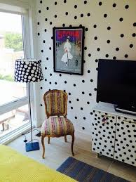 image of polka dot wall decals large