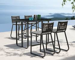 impressive outdoor bar height stools in decoration counter patio table