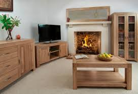Wooden Living Room Furniture Alto Solid Oak Living Room Furniture Oak Furniture Land Www