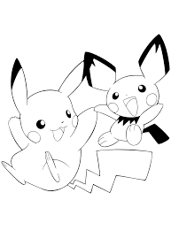 Small Picture Pokemon Coloring Pages Drawing 1 olegandreevme