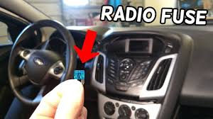 Ford C Max Lights Wont Turn Off Radio Does Not Turn On Fuse Location Replacement Ford Focus Mk3 2012 2018