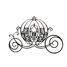 Cinderella Mickey Mouse Carriage Silhouette - Black cartoon pumpkin  carriage png download - 1470*1470 - Free Transparent Cinderella png  Download. - Clip Art Library