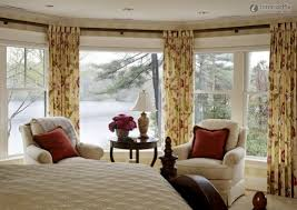 Decorations:European Style Bedroom With Bay Window Decoration Idea Bay  Window Decorating Ideas for Your