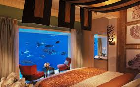 One Bedroom Suite Palms Hotel Underwater The Neptune Suite At Atlantis The Palm Travel
