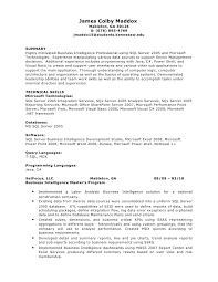 Exquisite Decoration Software Engineer Resume Summary James Colby