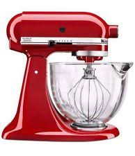 item 3 kitchenaid 5 qt tilt head stand mixer w gl bowl and flex edge beater red kitchenaid 5 qt tilt head stand mixer w gl bowl and flex edge