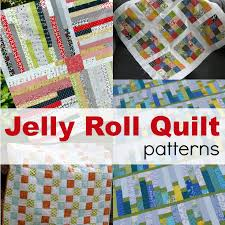 15 Quick Quilt Patterns | Easy to Make - The Sewing Loft & Jelly roll quilts are easy to make and stitch together in a flash. Here are Adamdwight.com
