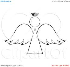 Angel Outline Image Google Search