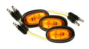 Pc Rated Light 47973 3 Micronova Led Clearance Marker Light Bulk Pack